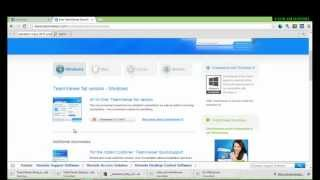 Gambar cover How to download Teamviewer 8 in Windows