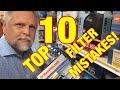 TOP 10 Aquarium Filter MISTAKES