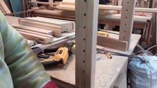 Работа над массажной кроватью с регулируемыми ножками ч.2(, 2015-12-30T18:19:01.000Z)