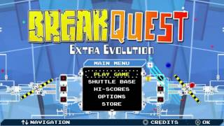 BreakQuest Extra Evolution Title Theme Animatic (2013 Beatshippers/Nurium Games)