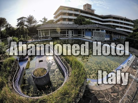 Abandoned Hotel In Italy - Forladt Hotel Italien