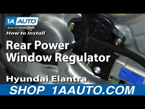 How To Install Replace Front Power Window Regulator 200