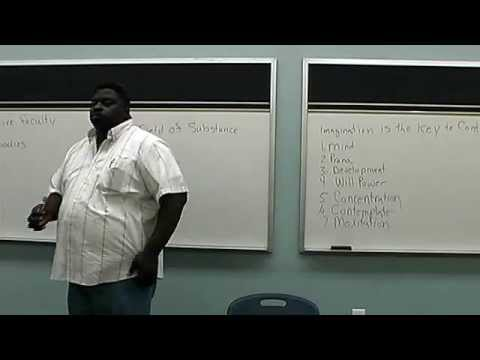 """Psychic/Spiritual Development """"Imagination"""", Man's Only Creative Faculty Lecture"""