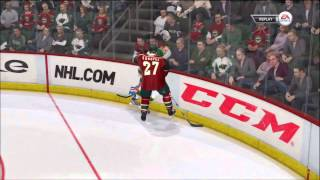 NHL 12   -  Dallas Stars vs Minnesota Wild period 1 - Commentary