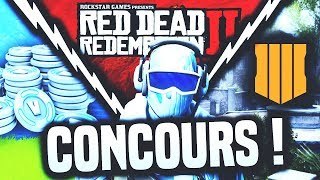 FORTNITE CONCOURS / READ DEAD REDEMPTION 2 / BLACK OPS 4 / Free VBUCKS!