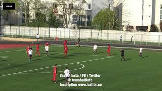 2018 04 17 u17 match amical clichois uf vs paris saint germain