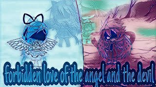 Forbidden love of the angel and the demon's ||mini movie||gacha life||