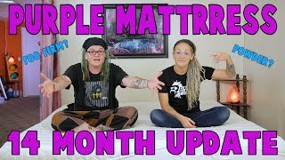 Purple Mattress 14 Month Update | What!? What!?