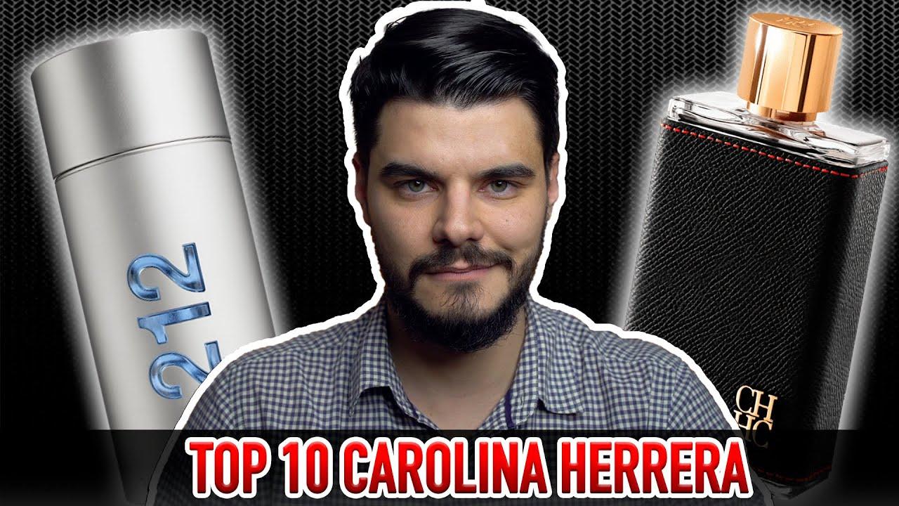 TOP 10 MELHORES PERFUMES CAROLINA HERRERA | A LISTA DAS LISTAS | QUAL DELES É O MELHOR?
