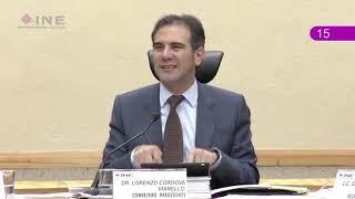 Segunda Intervención del Consejero Presidente sobre el Anteproyecto de Presupuesto del INE para 2019