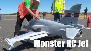 Monster RC Jet Turbine Airplane