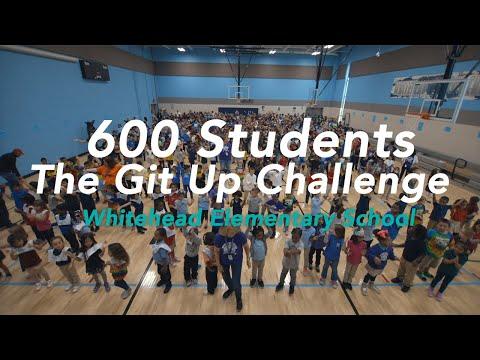 The Git Up Challenge - Whitehead Elementary School #gitupchallenge