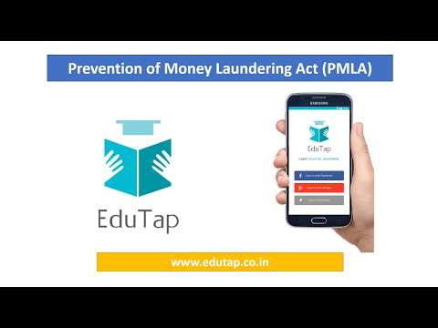 Prevention of Money Laundering Act (PMLA) for RBI and NABARD 2018
