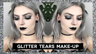 glitter makeup tutorial festival
