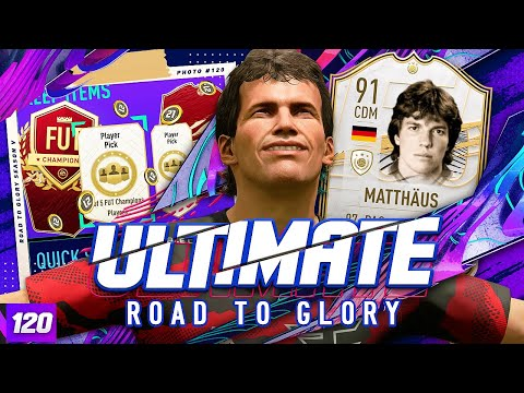 FUT CHAMPS REWARDS!!! ULTIMATE RTG #120 FIFA 21 Ultimate Team Road to Glory