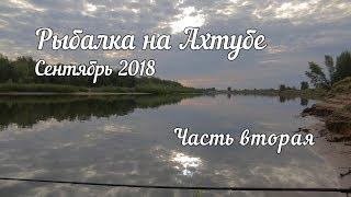 Рыбалка Ахтуба сентябрь 2018  вторая часть