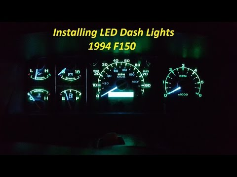 How To Install LED Dash Lights. New glow to your dash.