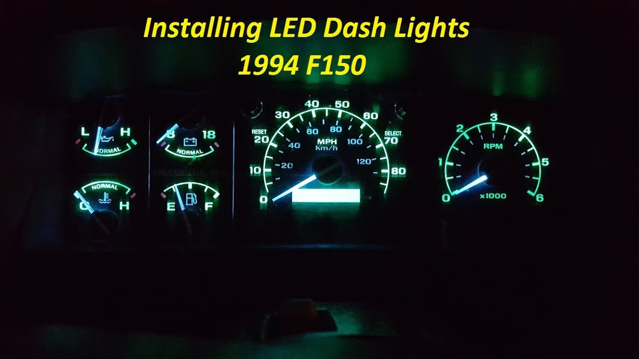 How To Install LED Dash Lights  New glow to your dash