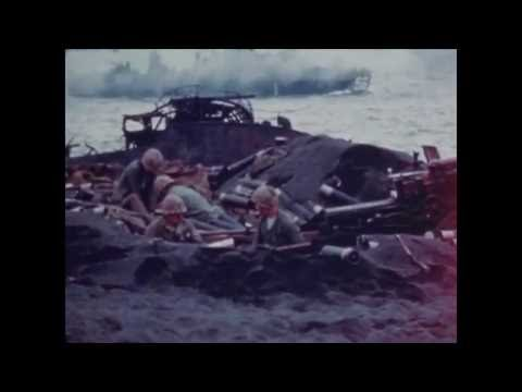 5th Marine Division Landing on Iwo Jima, February 1945 (Part 2)