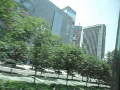 Bus from Foreigner Street to Chongqing City   Part 3   China   June 2013