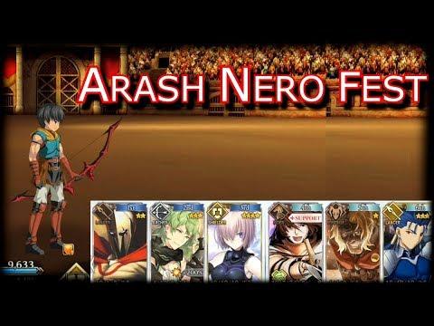 Arash Nero Fest - Challenge Quest [Fate Grand Order]
