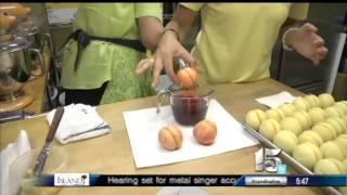 Amanda Live At Crady's Making Peach Cookies - Good Morning Carolinas