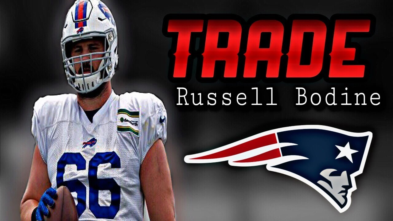 new product 326a3 d3d43 Patriots Trade with the Buffalo Bills for Center Russell Bodine