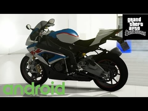 GTA SA BMW S1000RR BIKE MOD IN ANDROID