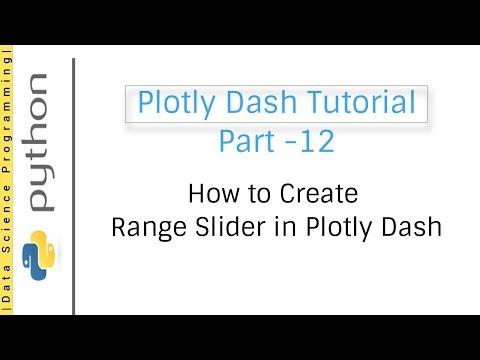 12 How to Create Range Slider in Plotly Dash