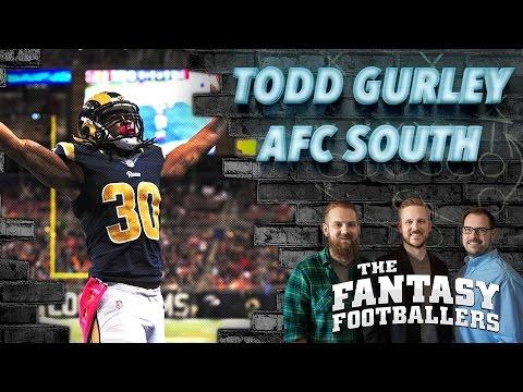 Fantasy Football 2016 - Todd Gurley, AFC South, & Fantasy News - Ep. #227