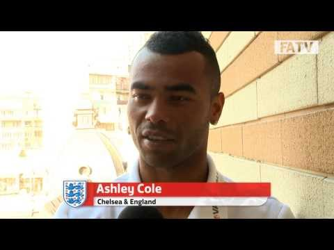 Ashley Cole welcomes Frank Lampard to the 100 Cap Club ahead of match vs Ukraine