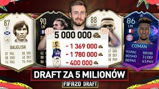 WYZWANIE DRAFTU DO 5 MILIONÓW COINSÓW | FIFA 20