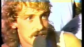 German TV - 1980 decade : Doro Pesch talking with headbangers