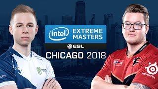 CS:GO - Team Liquid vs. FaZe [Cache] Map 3 - Semifinals - IEM Chicago 2018