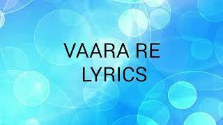 Vaara re   Lyrics   Dhadak   2018  Nakshita World