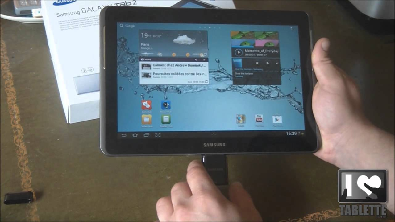 test tablette samsung galaxy tab 2 10 1 caract ristiques techniqes youtube. Black Bedroom Furniture Sets. Home Design Ideas