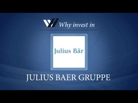 Julius Baer Gruppe - Why invest in 2015