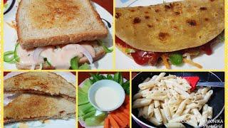 4 Quick Tiffin Recipes When you Are Lazy Or Late | आसानी से बन जाने वाली टेस्टी 4 टिफ़िन रेसिपीज़ 👌👌
