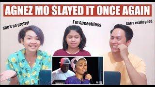 Aki Reacts || Agnez Mo Performs 'Damn I Love You'