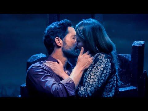 Download Lucifer Season 6 Kiss Scene - Lucifer and Chloe (Tom Ellis and Lauren German)
