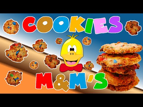recette---cookies-m&m's