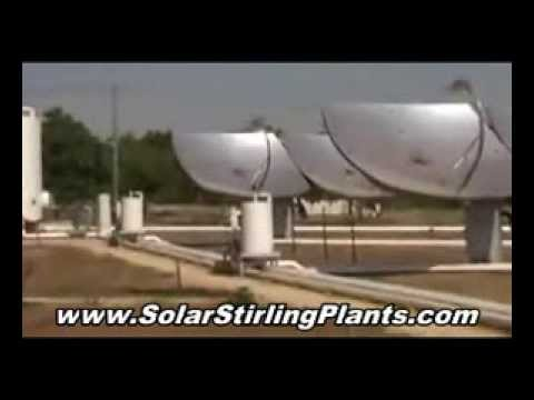Windmill or Geothermal  Alternative Energy?? Use only Solar Stirling Free Energy Blueprint