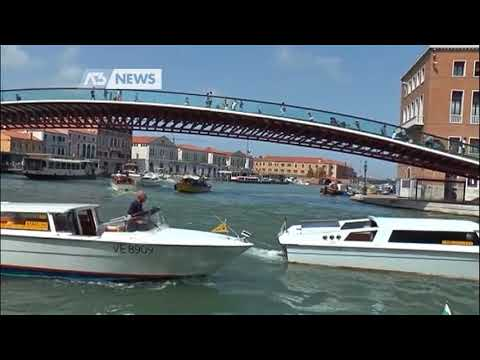KAYAK E CANOE DI NUOVO IN CANAL GRANDE | A3 NEWS V...