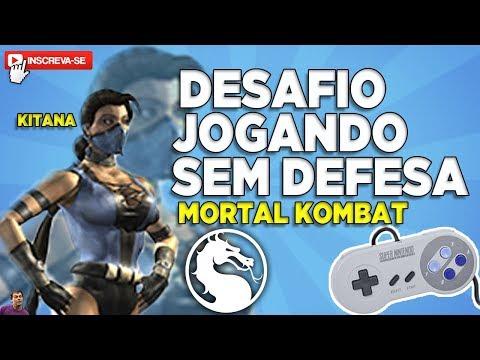 ZERANDO MORTAL KOMBAT SEM A DEFESA!! DESAFIO BYSPEED