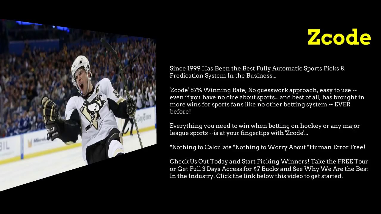 Nhl betting tips pickstown betting premier league matches this week