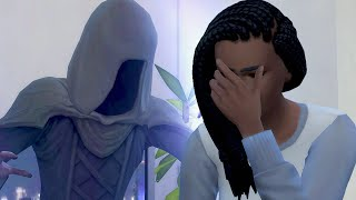 my sim literally died on their wedding day
