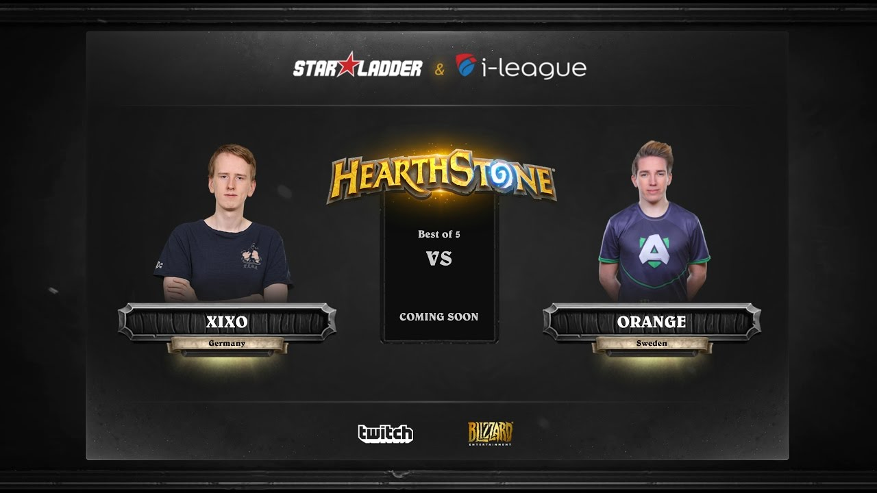 [EN] Xixo vs Orange | SL i-League Hearthstone StarSeries Season 3 (16.05.2017)