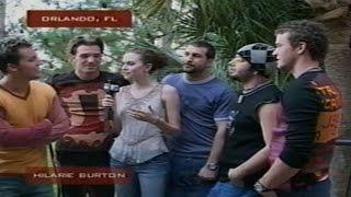 DJCarl.com© - *NSYNC on MTV in Orlando [video]