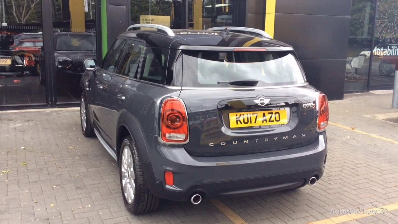 Mini Mini Countryman Cooper S Grey 2017 Youtube