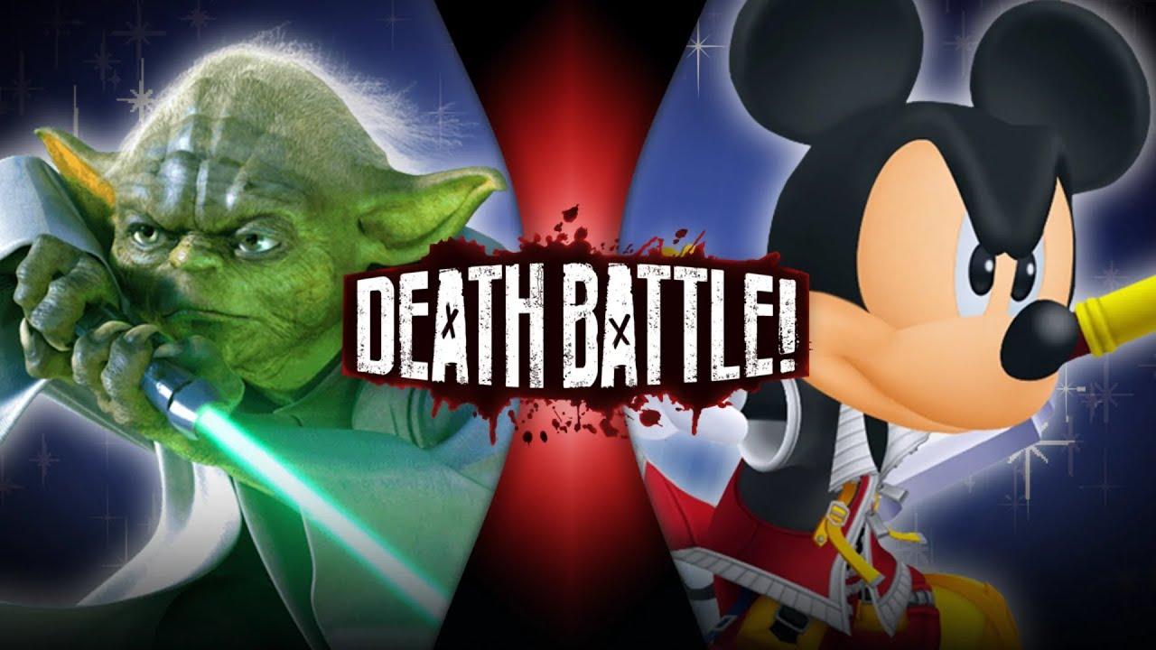 Download Yoda VS King Mickey (Star Wars VS Kingdom Hearts) | DEATH BATTLE!